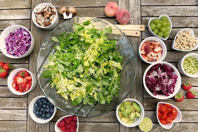 ingredience na salát